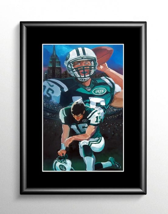 New York Jets Tim Tebow Artwork
