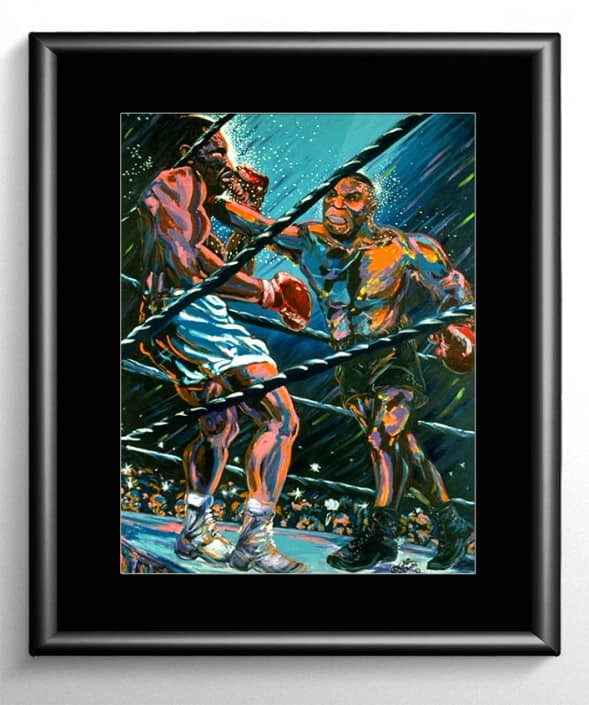 Tyson Vs Holyfield Boxing Art