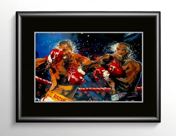 Mike Tyson vs Razor Ruddock Art