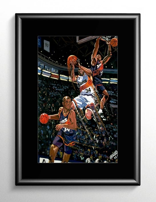 Charles Barkley Painting