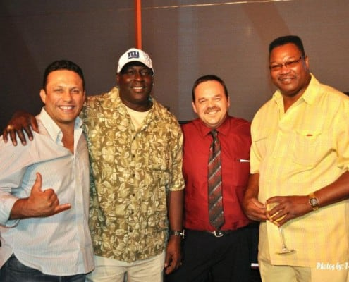 Renzo Gracie, Otis Anderson, Larry Holmes and Edgar Brown