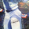 Derek Jeter Signed Artwork