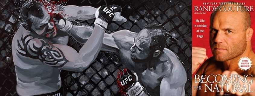 Artwork Featured in Randy Couture Book