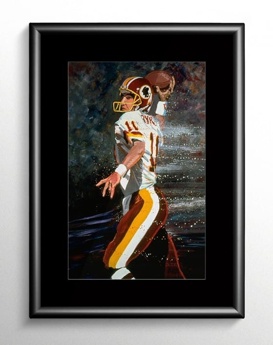 Mark Rypien Redskin Painting