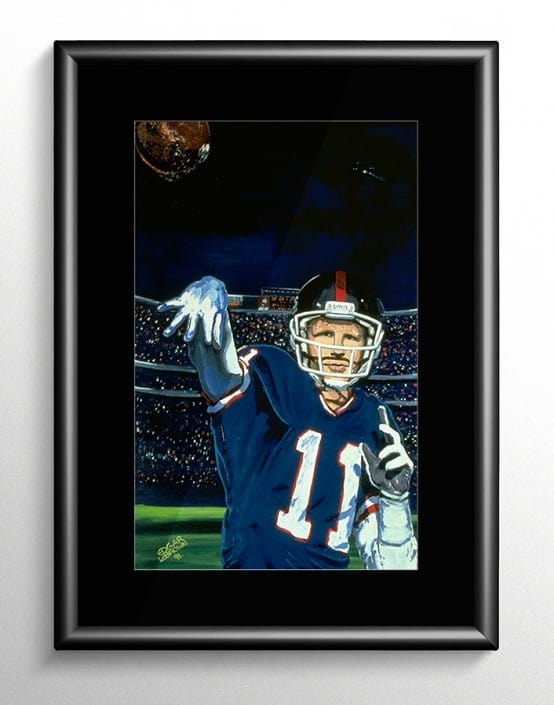 Phil Simms NY Giants Painting