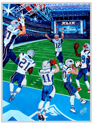 New England Patriots Super Bowl XLIX Champions