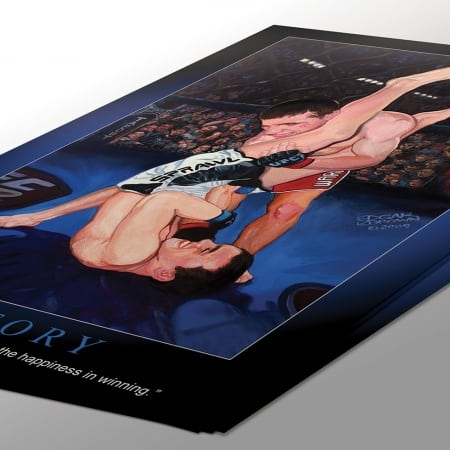 MMA Poster Victory
