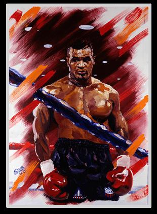 Mike Tyson Art